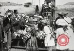 Image of Woodrow Wilson Charleroi Belgium, 1919, second 12 stock footage video 65675064448