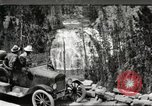 Image of Tourists in automobiles explore scenic vistas United States USA, 1916, second 1 stock footage video 65675064463