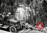 Image of Tourists in automobiles explore scenic vistas United States USA, 1916, second 2 stock footage video 65675064463