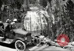 Image of Tourists in automobiles explore scenic vistas United States USA, 1916, second 3 stock footage video 65675064463