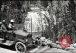 Image of Tourists in automobiles explore scenic vistas United States USA, 1916, second 4 stock footage video 65675064463