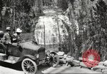 Image of Tourists in automobiles explore scenic vistas United States USA, 1916, second 5 stock footage video 65675064463