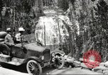Image of Tourists in automobiles explore scenic vistas United States USA, 1916, second 6 stock footage video 65675064463