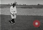 Image of Walter Hagen playing golf Bloomfield Hills Michigan USA, 1919, second 5 stock footage video 65675064503