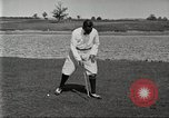 Image of Walter Hagen playing golf Bloomfield Hills Michigan USA, 1919, second 6 stock footage video 65675064503