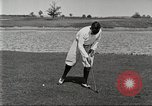 Image of Walter Hagen playing golf Bloomfield Hills Michigan USA, 1919, second 7 stock footage video 65675064503