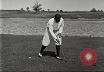 Image of Walter Hagen playing golf Bloomfield Hills Michigan USA, 1919, second 8 stock footage video 65675064503