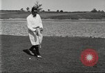 Image of Walter Hagen playing golf Bloomfield Hills Michigan USA, 1919, second 9 stock footage video 65675064503