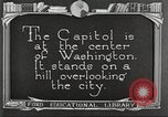 Image of Monuments Washington DC USA, 1921, second 4 stock footage video 65675064505