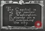 Image of Monuments Washington DC USA, 1921, second 6 stock footage video 65675064505