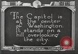 Image of Monuments Washington DC USA, 1921, second 7 stock footage video 65675064505