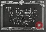 Image of Monuments Washington DC USA, 1921, second 8 stock footage video 65675064505