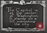 Image of Monuments Washington DC USA, 1921, second 9 stock footage video 65675064505