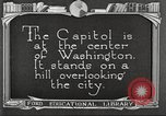 Image of Monuments Washington DC USA, 1921, second 10 stock footage video 65675064505