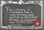 Image of Library of Congress Washington DC USA, 1921, second 1 stock footage video 65675064507