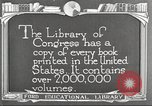 Image of Library of Congress Washington DC USA, 1921, second 2 stock footage video 65675064507