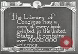 Image of Library of Congress Washington DC USA, 1921, second 3 stock footage video 65675064507
