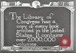 Image of Library of Congress Washington DC USA, 1921, second 4 stock footage video 65675064507