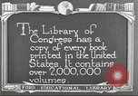 Image of Library of Congress Washington DC USA, 1921, second 5 stock footage video 65675064507