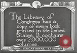 Image of Library of Congress Washington DC USA, 1921, second 6 stock footage video 65675064507