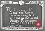 Image of Library of Congress Washington DC USA, 1921, second 8 stock footage video 65675064507