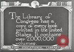 Image of Library of Congress Washington DC USA, 1921, second 9 stock footage video 65675064507