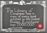 Image of Library of Congress Washington DC USA, 1921, second 10 stock footage video 65675064507