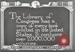 Image of Library of Congress Washington DC USA, 1921, second 11 stock footage video 65675064507