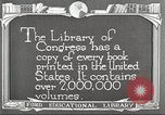 Image of Library of Congress Washington DC USA, 1921, second 12 stock footage video 65675064507