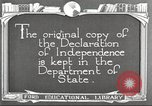 Image of Department of State Washington DC USA, 1921, second 5 stock footage video 65675064509