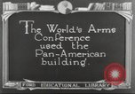 Image of Pan American Washington DC USA, 1921, second 1 stock footage video 65675064513