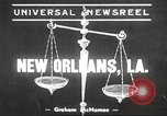 Image of Doctor James Smith embezzlement charges New Orleans Louisiana USA, 1939, second 1 stock footage video 65675064533