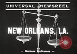 Image of Doctor James Smith embezzlement charges New Orleans Louisiana USA, 1939, second 2 stock footage video 65675064533