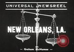 Image of Doctor James Smith embezzlement charges New Orleans Louisiana USA, 1939, second 3 stock footage video 65675064533