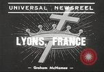 Image of Marial Congress Lyon France, 1939, second 3 stock footage video 65675064534