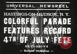 Image of ongoing parade New York United States USA, 1939, second 3 stock footage video 65675064537