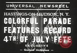 Image of ongoing parade New York United States USA, 1939, second 6 stock footage video 65675064537