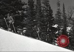 Image of skiing equipment United States USA, 1942, second 7 stock footage video 65675064555