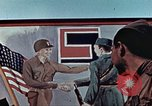 Image of East meets west Torgau Germany, 1945, second 2 stock footage video 65675064565