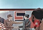 Image of East meets west Torgau Germany, 1945, second 8 stock footage video 65675064565