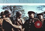 Image of East meets west Torgau Germany, 1945, second 9 stock footage video 65675064565