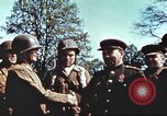 Image of East meets west Torgau Germany, 1945, second 10 stock footage video 65675064565