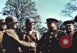 Image of East meets west Torgau Germany, 1945, second 11 stock footage video 65675064565