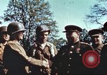 Image of East meets west Torgau Germany, 1945, second 12 stock footage video 65675064565