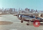 Image of P-47 Thunderbolt aircraft Germany, 1945, second 10 stock footage video 65675064568