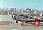Image of P-47 Thunderbolt aircraft Germany, 1945, second 12 stock footage video 65675064568