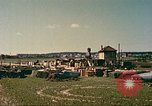 Image of United States base camp European Theater, 1945, second 2 stock footage video 65675064571