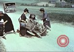 Image of evacuating civilians Europe, 1945, second 8 stock footage video 65675064577