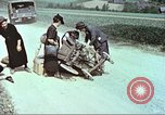 Image of evacuating civilians Europe, 1945, second 10 stock footage video 65675064577