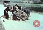 Image of evacuating civilians Europe, 1945, second 12 stock footage video 65675064577